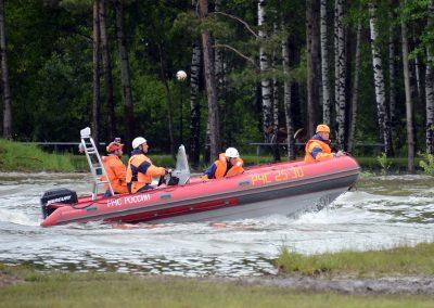 rescue motor boat