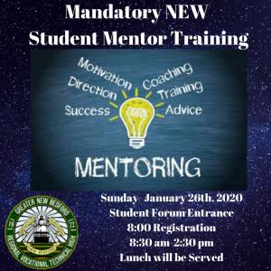 Student Mentor Training