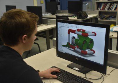 jack looking at computer screen
