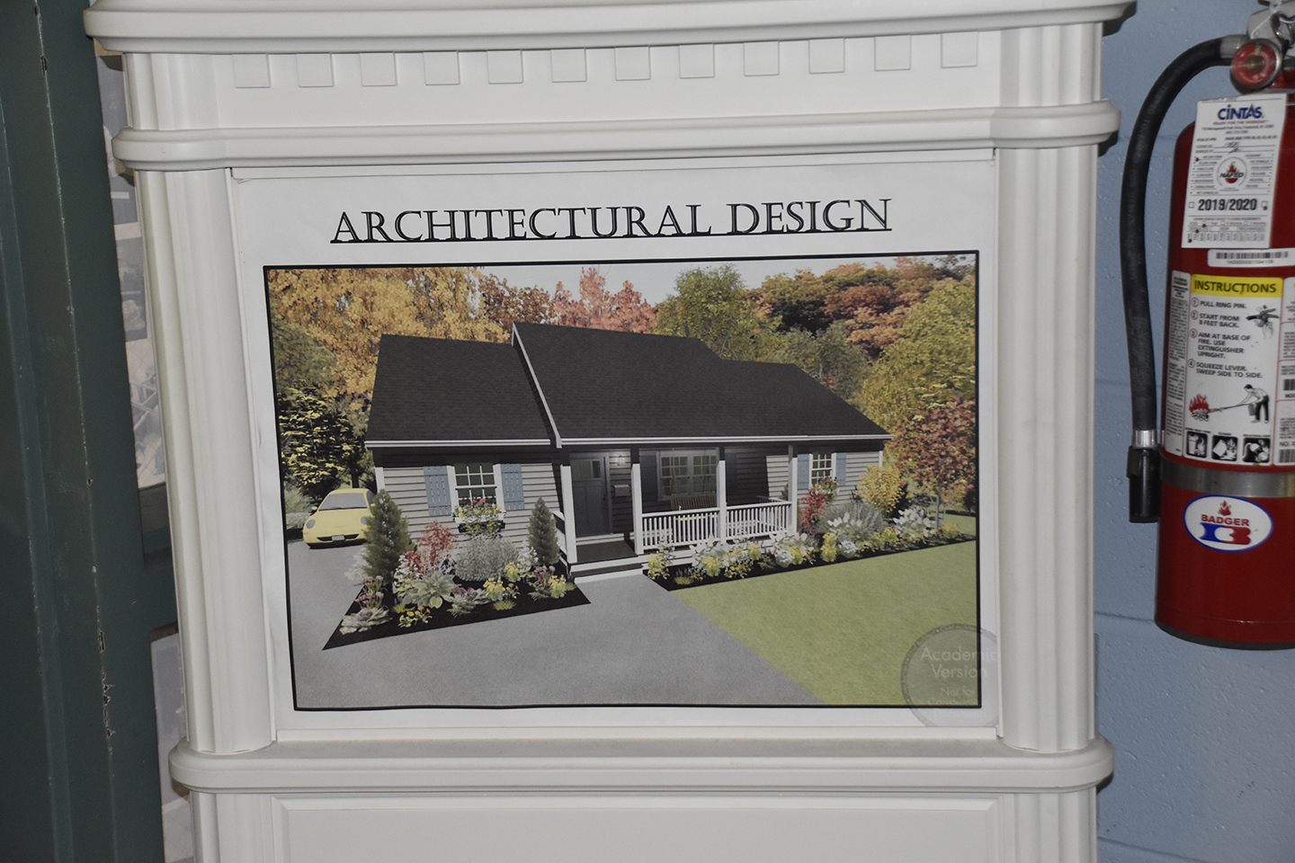 WS Architectural Drafting Sign