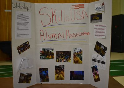 a photo of a skills use board