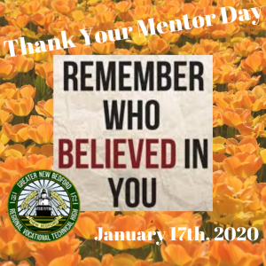 Thank your mentor