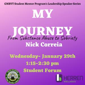 Nick Correia's Journey