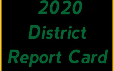 2020 District Report Card