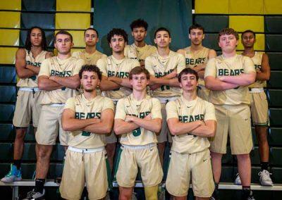 group basketball players photo 2