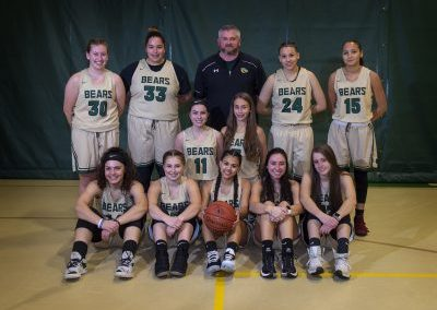 Senior Girls Basket Ball Team Group Photo