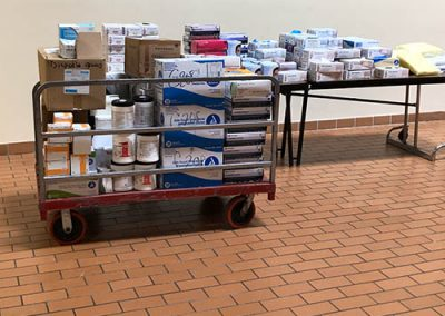 NBVT actsofkindess During Corona Virus More Medical Supplies the School is Donating