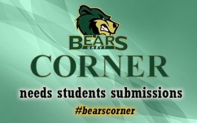 Bears Corner Student Submissions