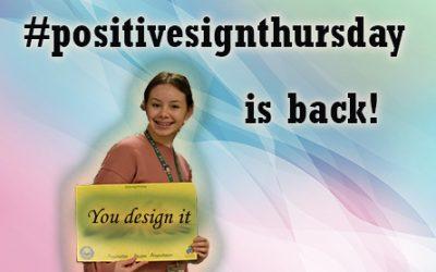 #PositiveSignThursday is Back