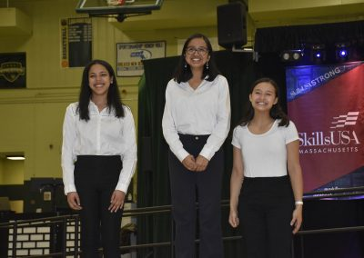 Three SkillsUSA Student Winners