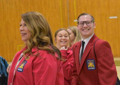 SkillsUSA Students Walking and Smiling