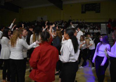 SkillsUSA Students Dancing