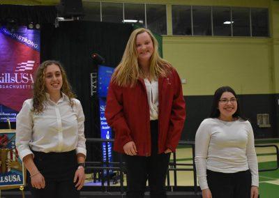 Three SkillsUSA Student Winners Smiling