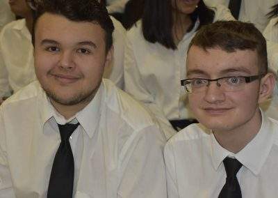 Two SkillsUSA Students Smiling