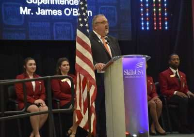 Mr. O'Brien Speaking at SkillsUSA Conference
