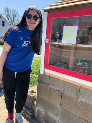 Abby's food pantry -Abby and her pantry