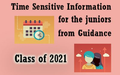 Information about 2020-2021 Senior Course Selection