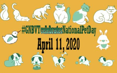 GNBVT Celebrates National Pet Day
