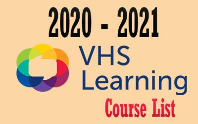 VHS Learning 2020-2021 Course List