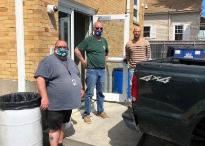 gnbvt donates food to Local food pantry at pantry