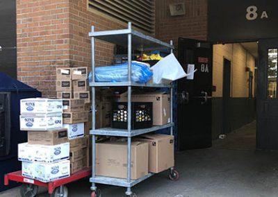 gnbvt donates food to Local food pantry food shot