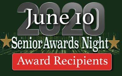 Senior Awards Night – Award Recipients