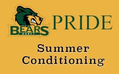 GNB Voc-Tech Summer Conditioning