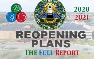2020 – 2021 REOPENING PLAN