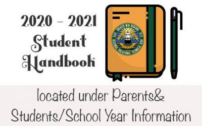 2020 – 2021 Student Handbook