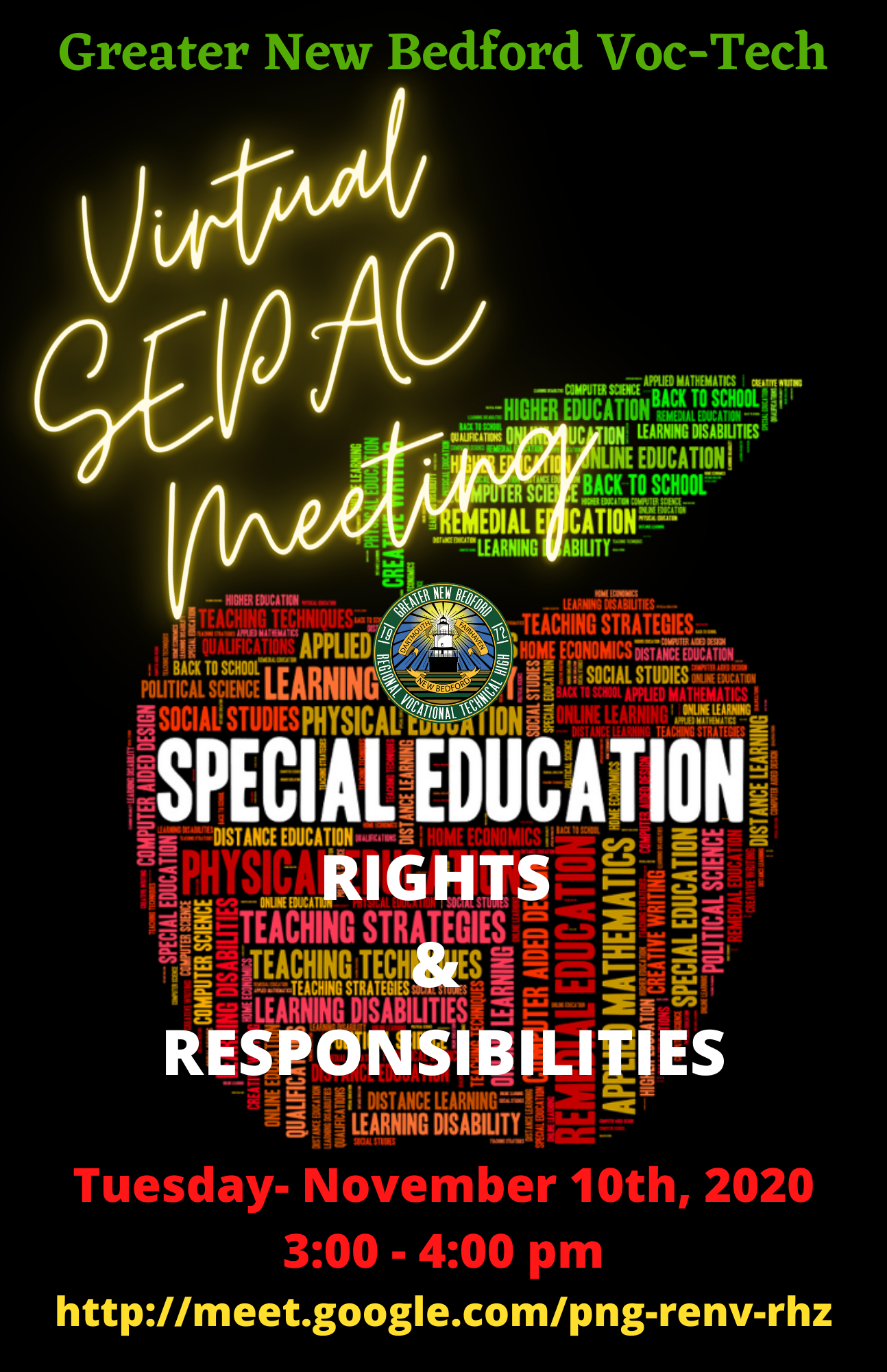 2020 SEPAC MEeting on November 10