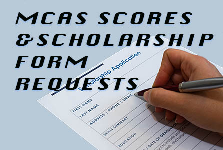 Mcas Scores and Scnolarship Form Requests Feature Image