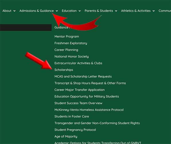 guidance website navigation