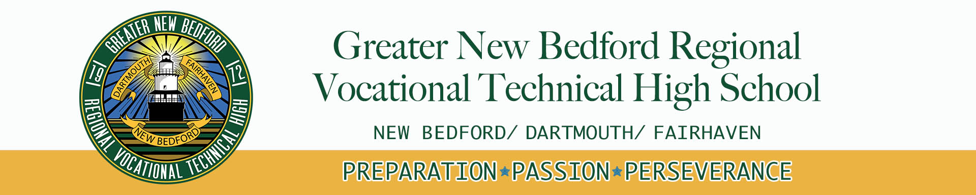 2021 header image with school's name and motto