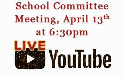 School Committee Meeting April 13