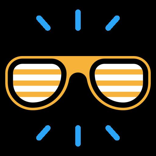 Happy Sunglasses Icon