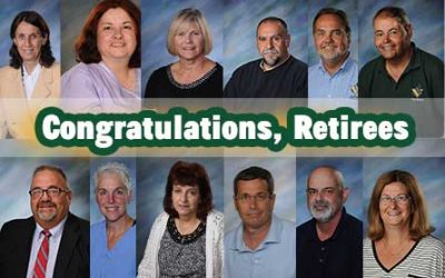 Retiree Recognition 2021