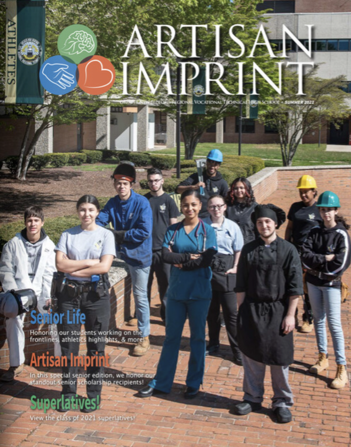 cover of artisan imprint summer edition