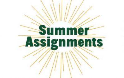 GNBVT Summer Assignments 2021