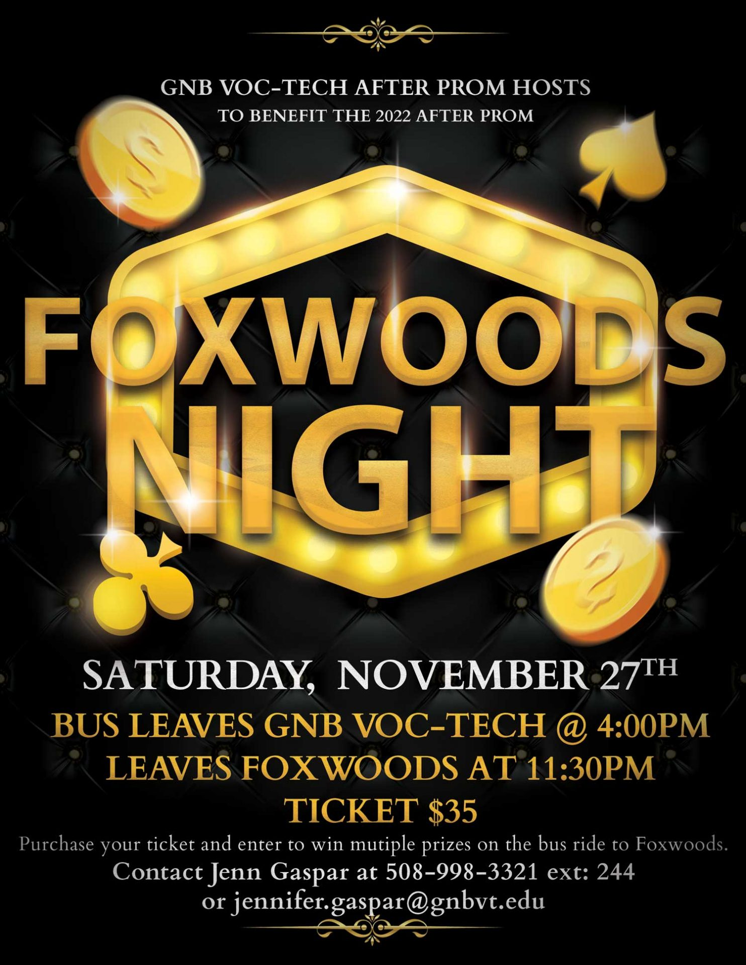Foxwoods Night Image and information