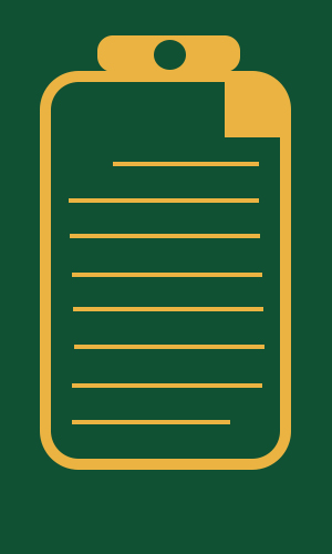 FAFSA Form Graphic Green and Gold
