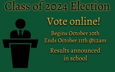 Class of 2024 Online Election